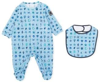 Versace seaside print pyjamas