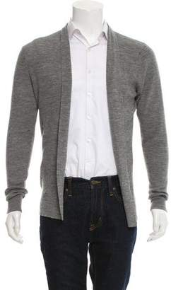 AllSaints Open Front Woven Cardigan