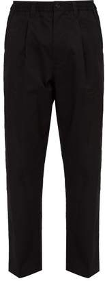 Saturdays NYC Varick Cotton Trousers - Mens - Black