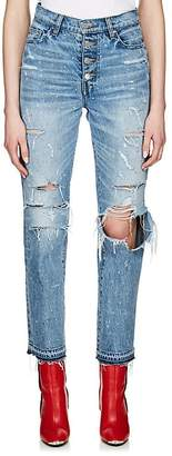 Amiri Women's Studded Straight Jeans