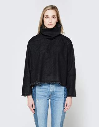 Ashley Rowe Fitted Turtleneck in Black