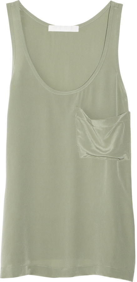 Kain Classic washed-silk tank