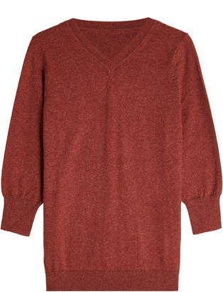 Etoile Isabel Marant Cotton Pullover with Wool