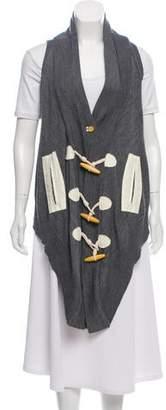 Nicholas Knit Button-Up Vest