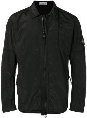 Stone Island zip-up lightweight jacket