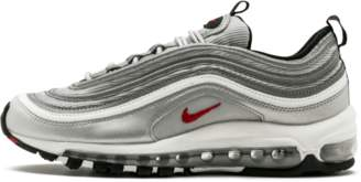 Nike W Air Max 97 OG QS 'Silver Bullet' - Metallic Silver/Varsity Red