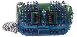 Christian Louboutin Iridescent Sweet Charity Bag blue Iridescent Sweet Charity Bag