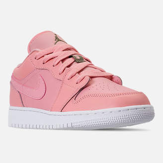 Nike Girls' Big Kids' Air Jordan 1 Low (3.5y - 9.5y) Casual Shoes