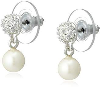 Carolee [キャロリー The Caroline Pearl Pierced Earrings 8682EP4178