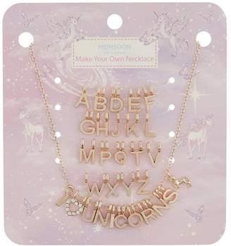 Monsoon Girls I Heart Unicorn Make Your Own Necklace