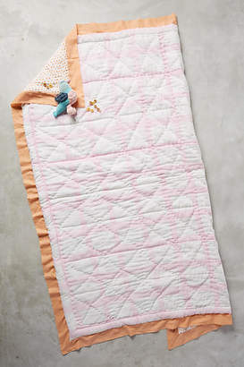 Anthropologie Gingham Toddler Quilt & Playmat $78 thestylecure.com