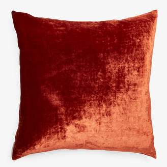 Aviva Stanoff Velvet Pillow Rust