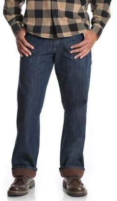 Wrangler Big Men's Fleece Lined Carpenter Jean