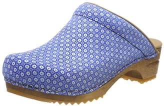 Sanita Women's Sis Open Clogs, (Blue 5)
