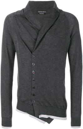 Alexander McQueen asymmetric buttoned cardigan