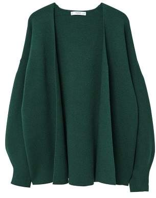 MANGO Puffed sleeves cardigan