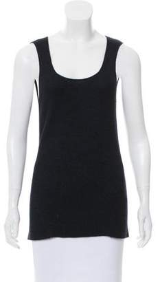 Loro Piana Sleeveless Ribbed Top