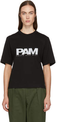 Perks And Mini Black Reflective Logo T-Shirt
