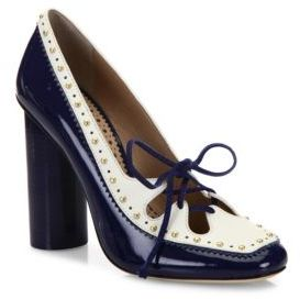Tory Burch Cambridge Studded Leather Pumps