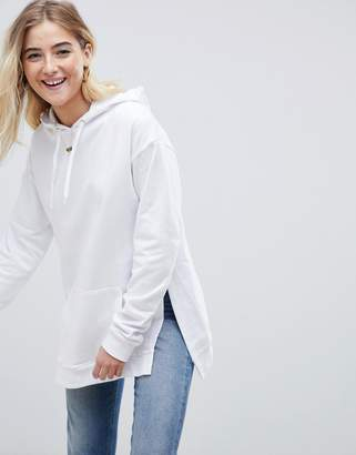 Asos Design Hoodie with Side Split Detail