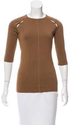 Alessandro Dell'Acqua Cutout Wool Sweater