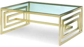 Century Furniture Avenue Glass Top Coffee Table