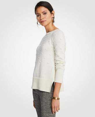 Ann Taylor Popcorn Stitch Sweater