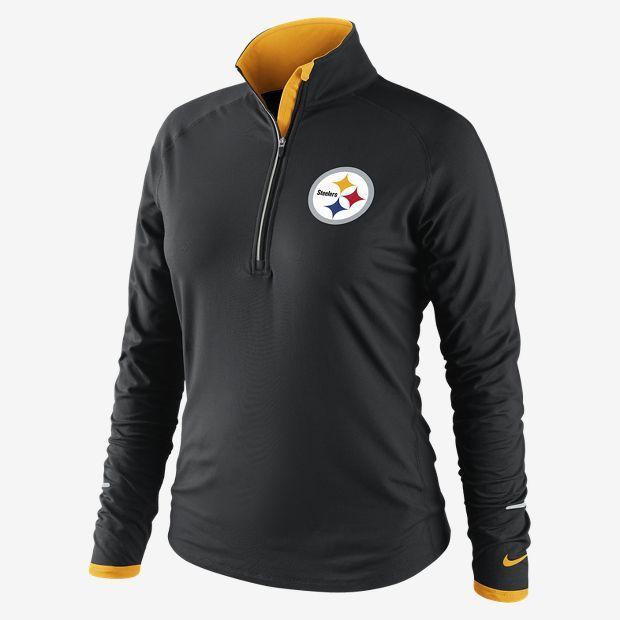 Nike Conversion Half-Zip (NFL Steelers) Women's Running Top