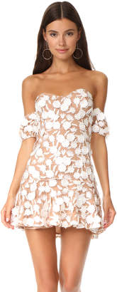 For Love & Lemons Amelia Strapless Mini Dress $319 thestylecure.com