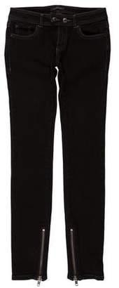 Rachel Zoe Mid-Rise Skinny Jeans