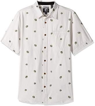 O'Neill Men's Brees Short Sleeve Woven Shirt