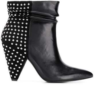 Liu Jo studded ankle boots