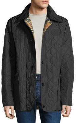 Burberry Men's Cotswold Signature Check-Lining Jacket