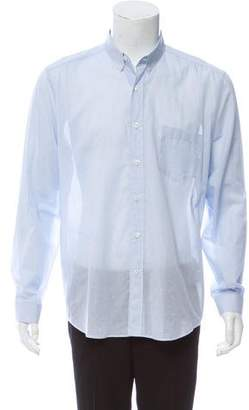 Ami Alexandre Mattiussi Sheer Button-Up Shirt