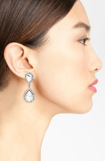 Women's Loren Hope Crystal Drop Earrings 2