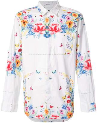 Engineered Garments floral print shirt