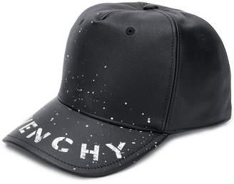 Givenchy stencil logo print baseball cap