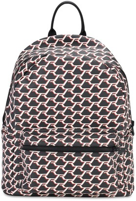 Represent Monogram Leather Backpack