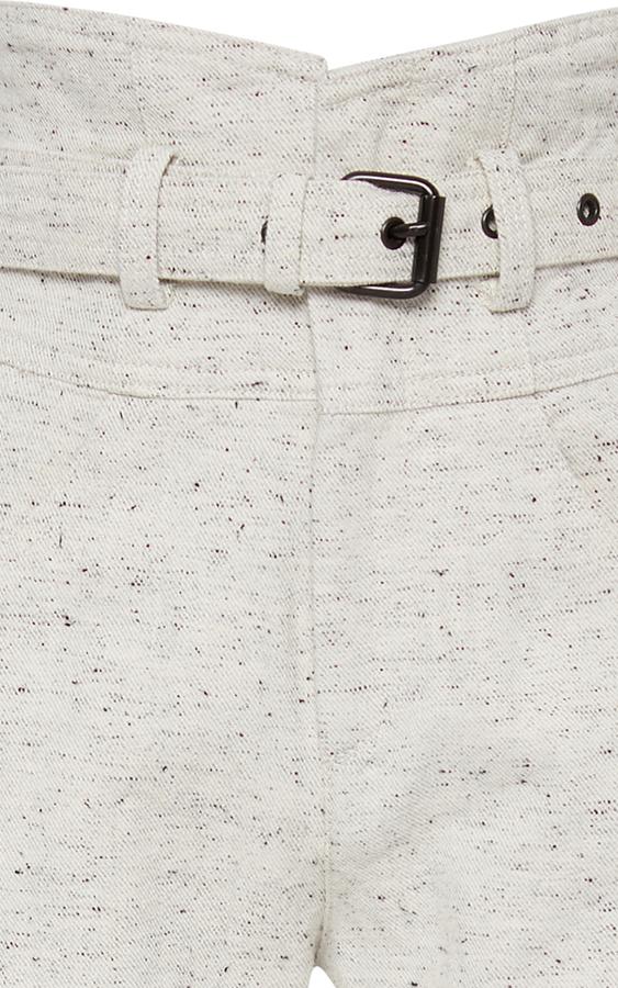 Isabel Marant High-Rise Cotton Pants 2