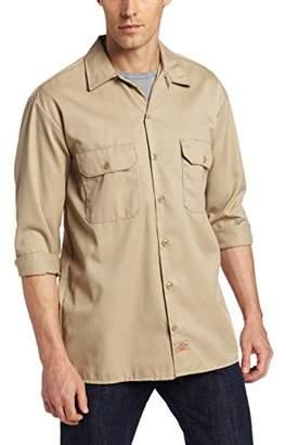 Dickies Men's Big-Tall Long-Sleeve Work Shirt