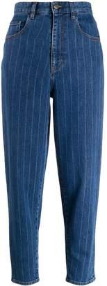 Just Cavalli pinstriped jeans