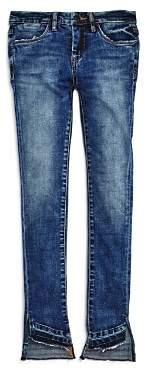 Blank NYC BLANKNYC Girls' Uneven-Hem Jeans - Big Kid