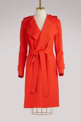 Harris Wharf London Round neck trench coat
