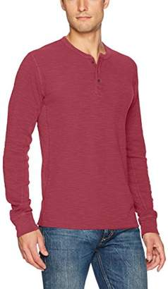 Lucky Brand Men's Lived in Thermal Henley Shirt