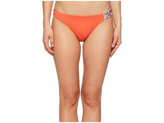 Letarte Beaded Trim Bottom Women's Swimwear