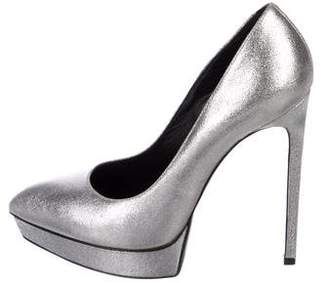 Saint Laurent Janis Metallic Pumps