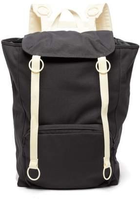 Raf Simons X Eastpak - X Ring Detail Top Load Backpack - Womens - Dark Grey