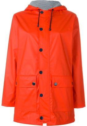 Petit Bateau hooded button up parka $157.80 thestylecure.com