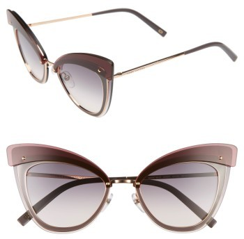 Marc Jacobs Women's Marc Jacobs 64Mm Sunglasses - Gold Copper