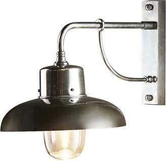 Emac & Lawton Bridgewater Outdoor Wall Lamp, Antique SilverLP